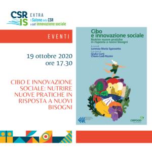 Cibo e innovazione sociale: nutrire nuove pratiche in risposta a nuovi bisogni