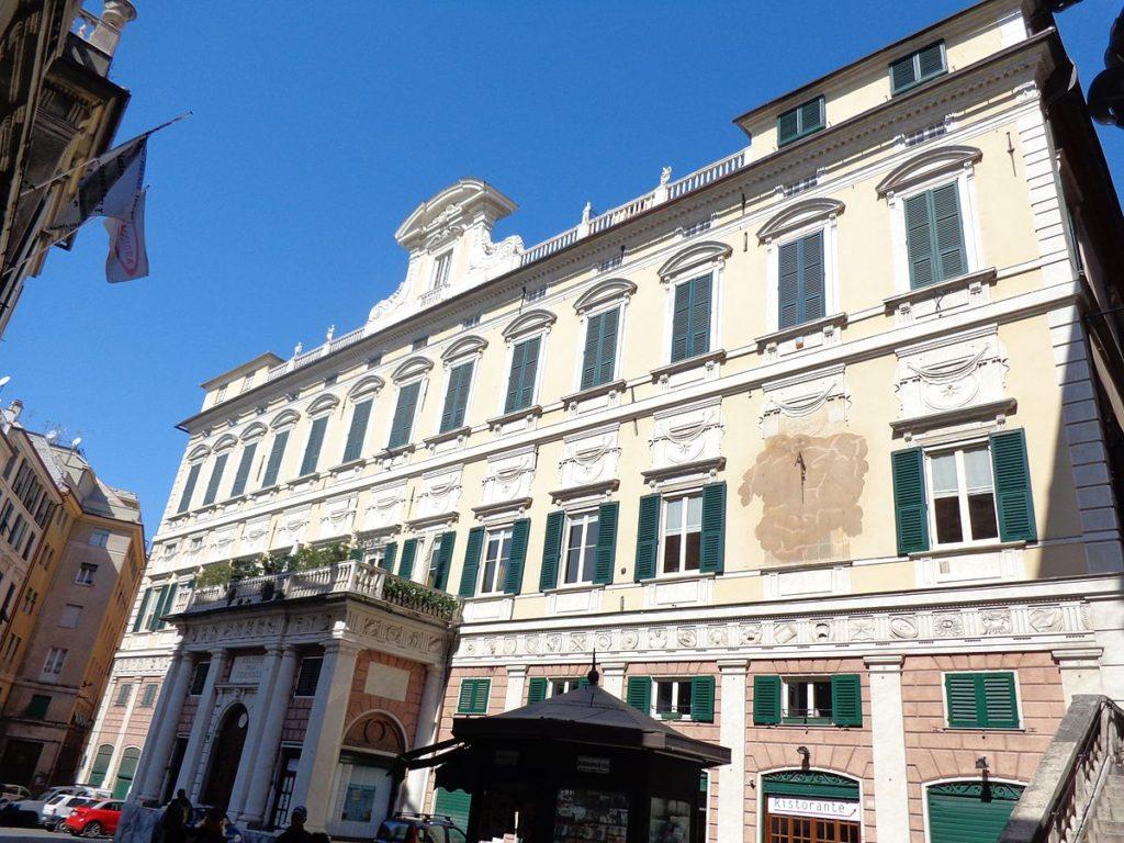 La tappa di Genova