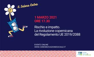 Rischio e impatto. La rivoluzione copernicana del Regolamento UE 2019/2088