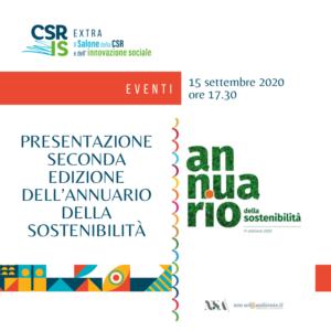 Presentazione seconda edizione dell'Annuario della Sostenibilità