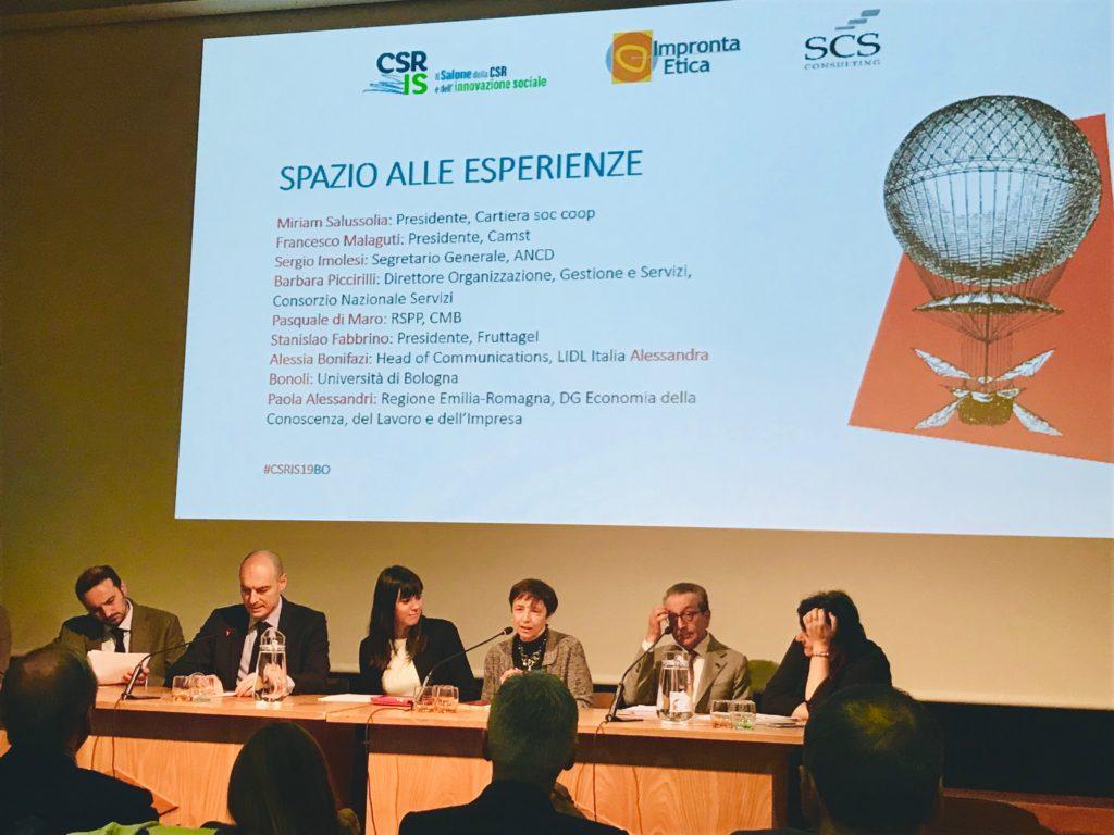 Il Salone della CSR e dell'Innovazione Sociale: 9 aprile 2019 a Bologna