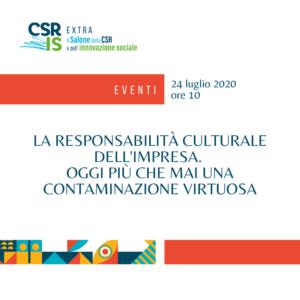 La responsabilità culturale dell'impresa