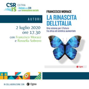 """""""La rinascita dell'Italia"""" di Francesco Morace"""