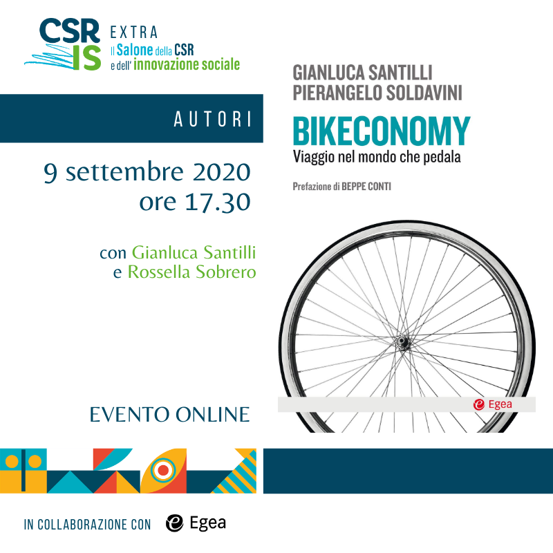 """Bikeconomy"" di Gianluca Santilli e Pierangelo Soldavini"
