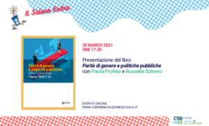 """""""Parità di genere e politiche pubbliche"""" di Paola Profeta"""