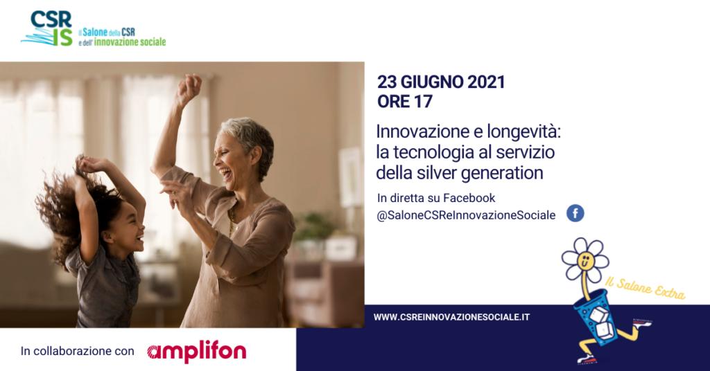 Innovazione e longevità:  la tecnologia al servizio della silver generation