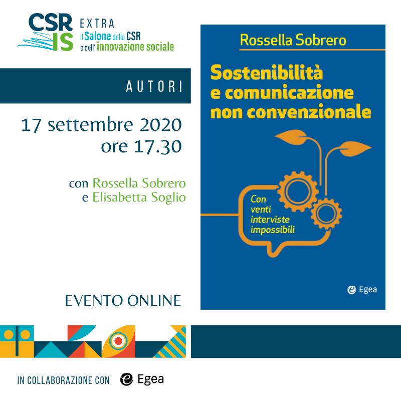 Sostenibilità e comunicazione non convenzionale di Rossella Sobrero