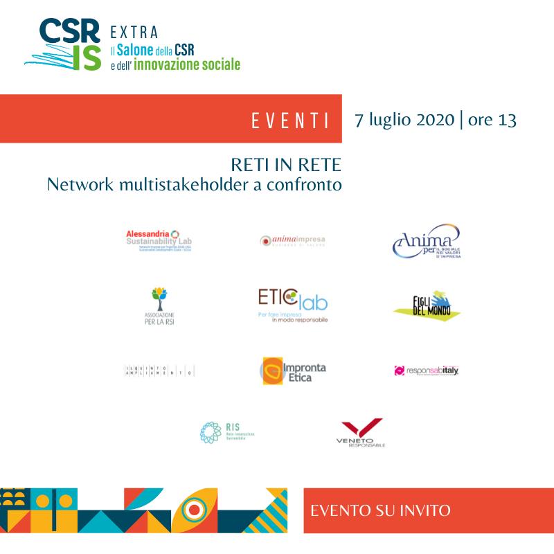 Reti in rete. Network multistakeholder a confronto