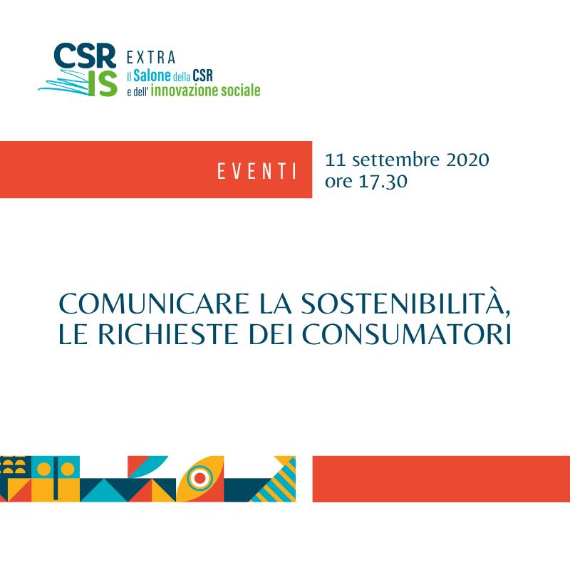 Comunicare la Sostenibilità: le richieste informative dei consumatori